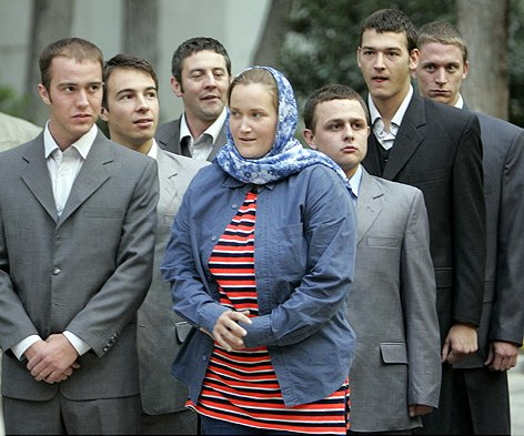 British Soldiers Released by Iran, April 4, 2007