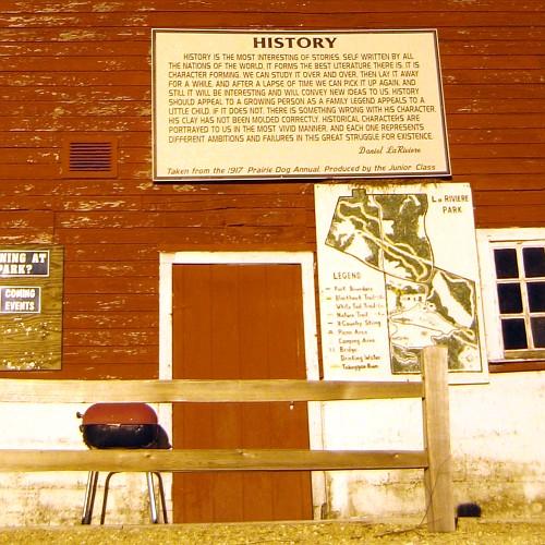 History, La Riviere Park, Prairie du Chien, WI, April 18, 2007