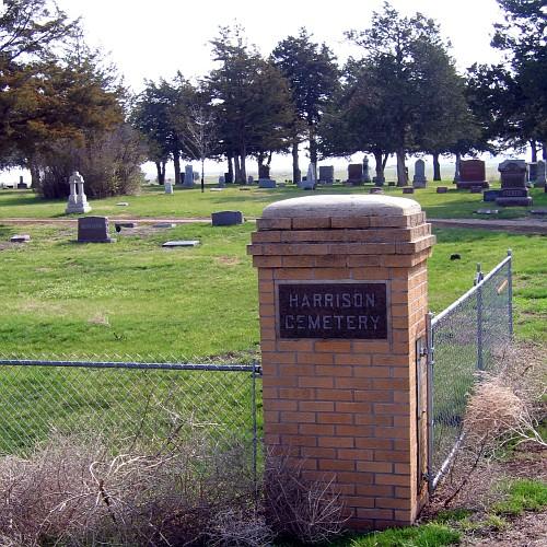 Harrison Cemetery, Harrison, SD, April 21, 2007