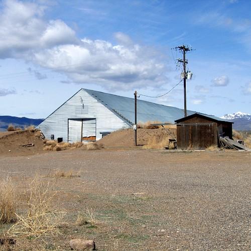 Potato Barn, East Central Idaho, 4/24/2007