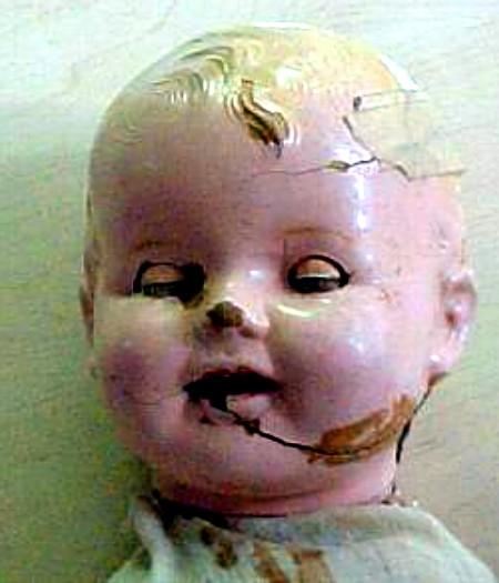 Paper Machete Mystery Doll