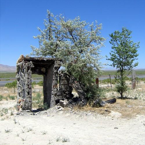 Thunder Mountain Indian Monument, Imlay, Nevada, 6/21/2007