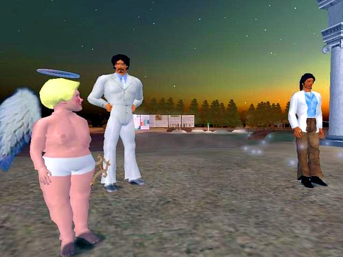 Iraq scene in Second Life