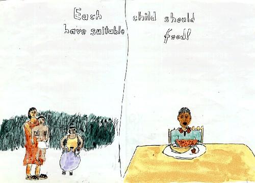 Each Child Should Have Suitable Food