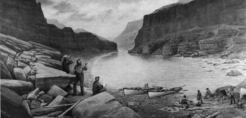 Powell Survey, Colorado River, 1871