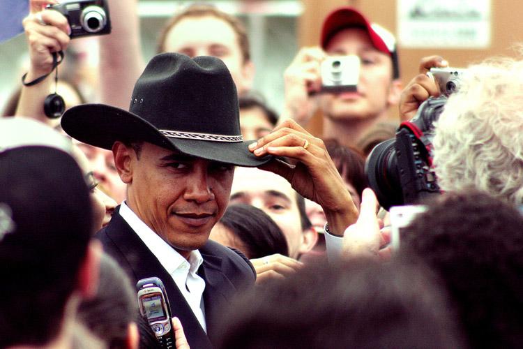 Barack Obama in Texas