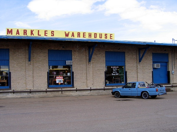 Markle's Warehouse, Glagow, MT