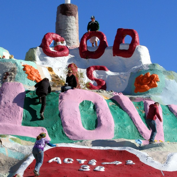 Salvation Mountain, Niland, California, 1/1/2011