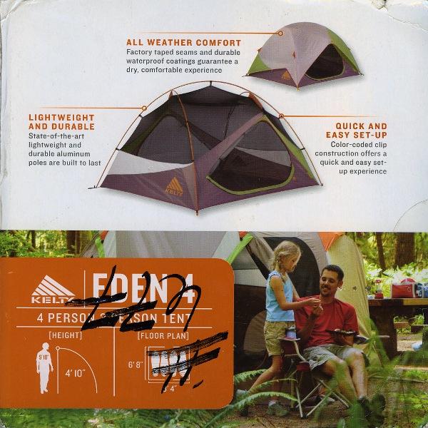 New Kelty Eden 4 Tent