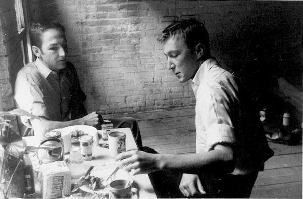 Robert Rauschenberg and Jasper Johns, 1954