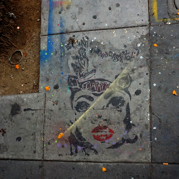 Sidewalk, San Francisco