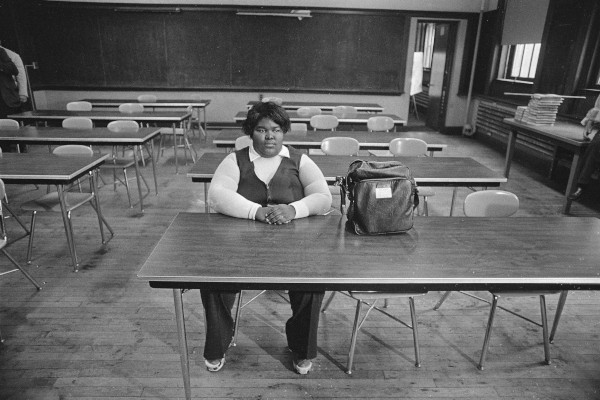 Photograph of Hannah Jones, South Boston High School, 1975