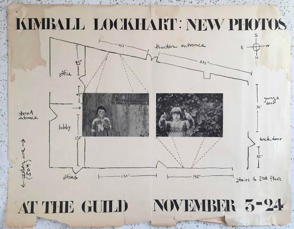 Kim Lockhart photo exhibition poster