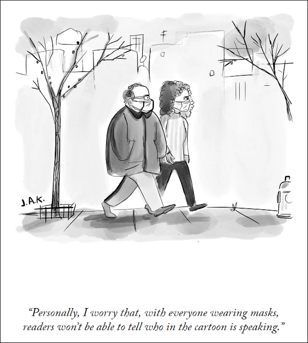 Personal worry cartoon from The New Yorker